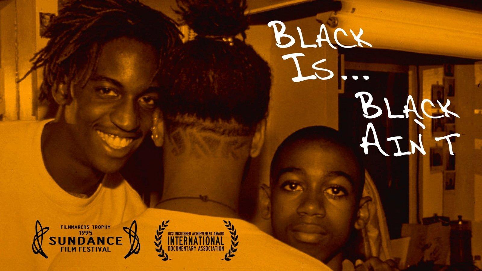 black is black aint movie poster
