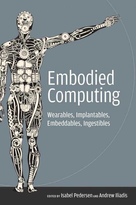 book cover human figure machine computer insides