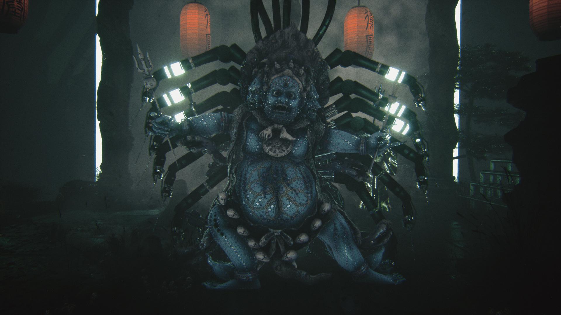 film still buddha spider animation