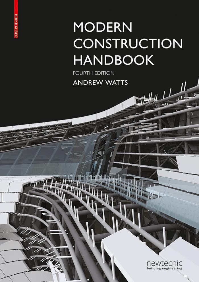 book cover modern construction handbook