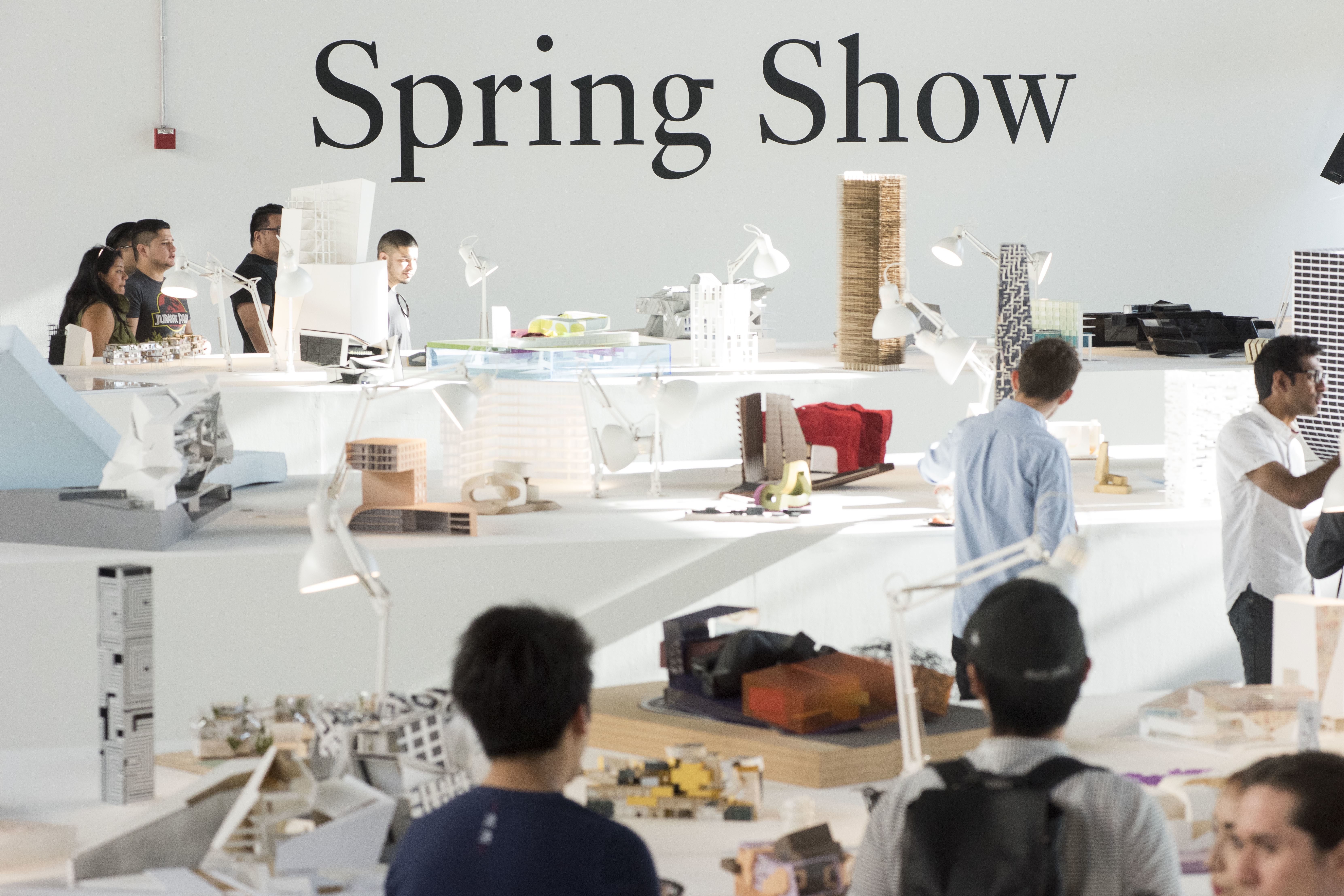 Spring Show exhibition crowds