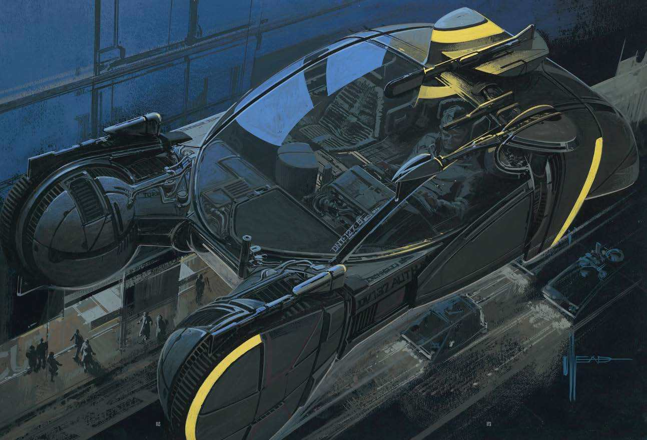 Syd Mead Blade Runner concept art
