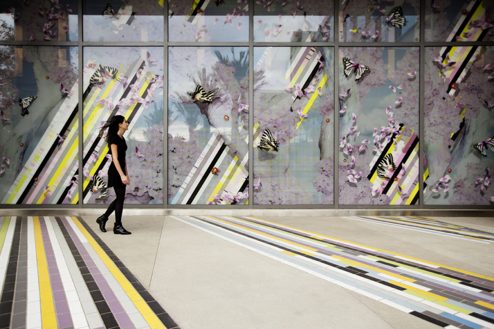 Zev Yaroslavsky Family Support Center Civic Artwork Los Angeles 2015