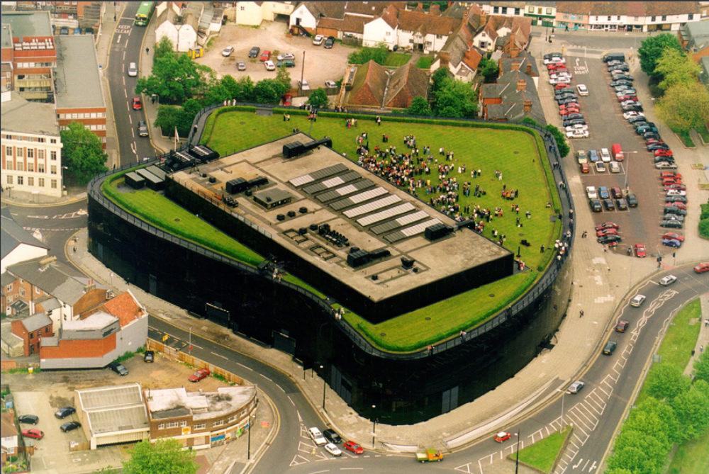 Willis Building Ipswich  Aerial View