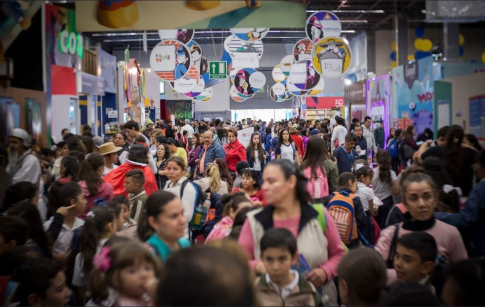 Color within the XXXI International Book Fair in Guadalajara
