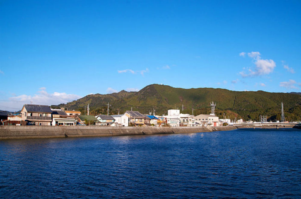 Teba Island in Shikoku