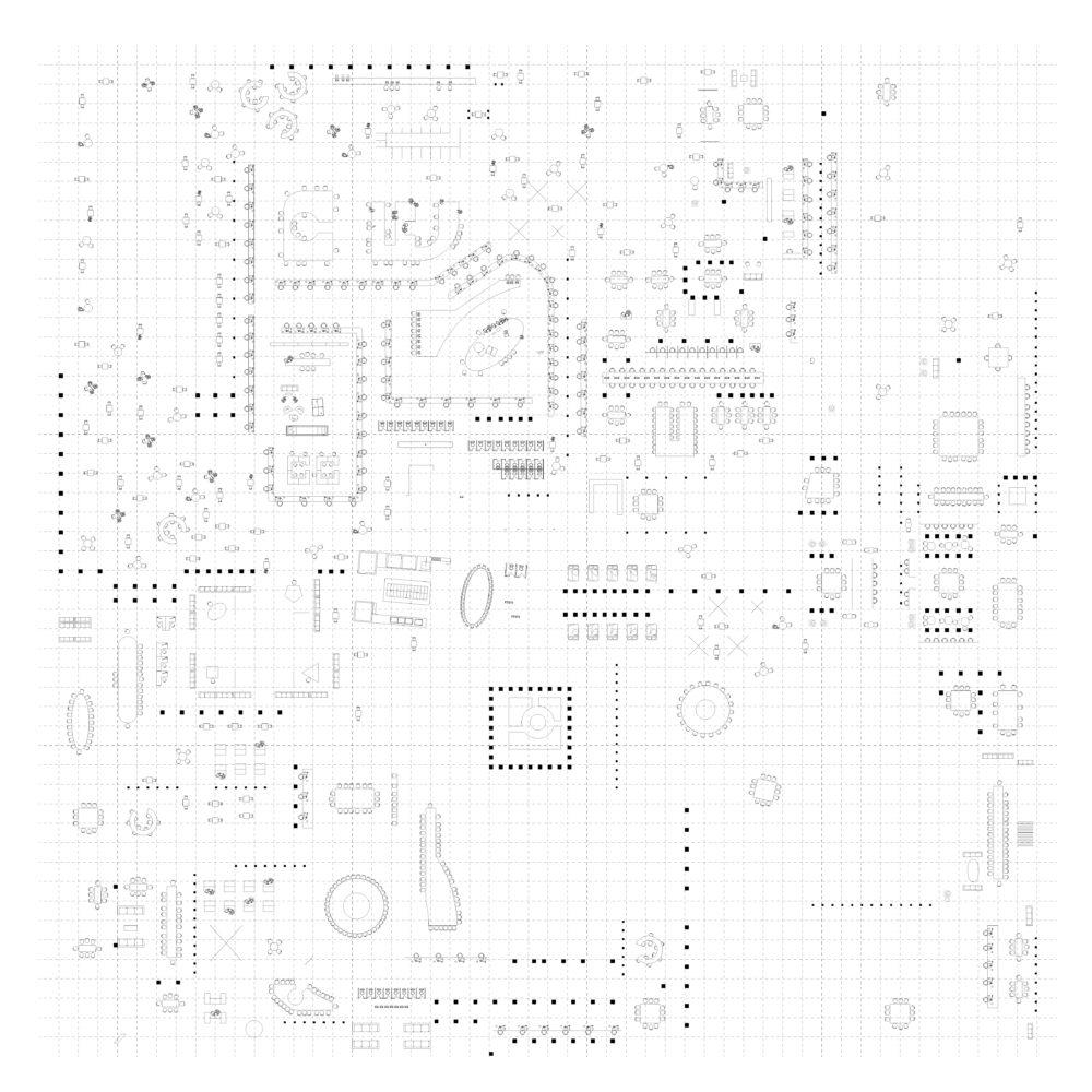 Tech Plan 003 Furniture Columns Grid 01 01
