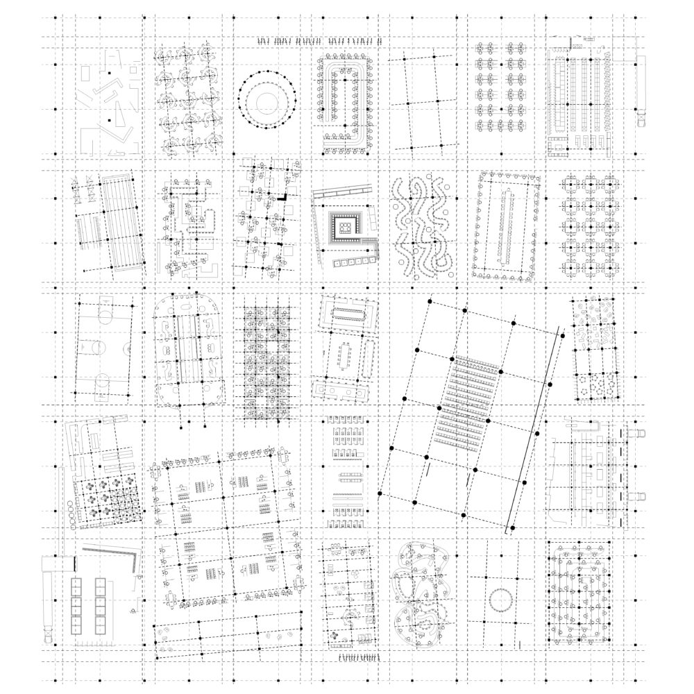 Tech Plan Campus Vs Building Grids And Furniture 01