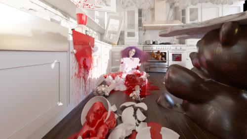 Kitchen Scene Int01