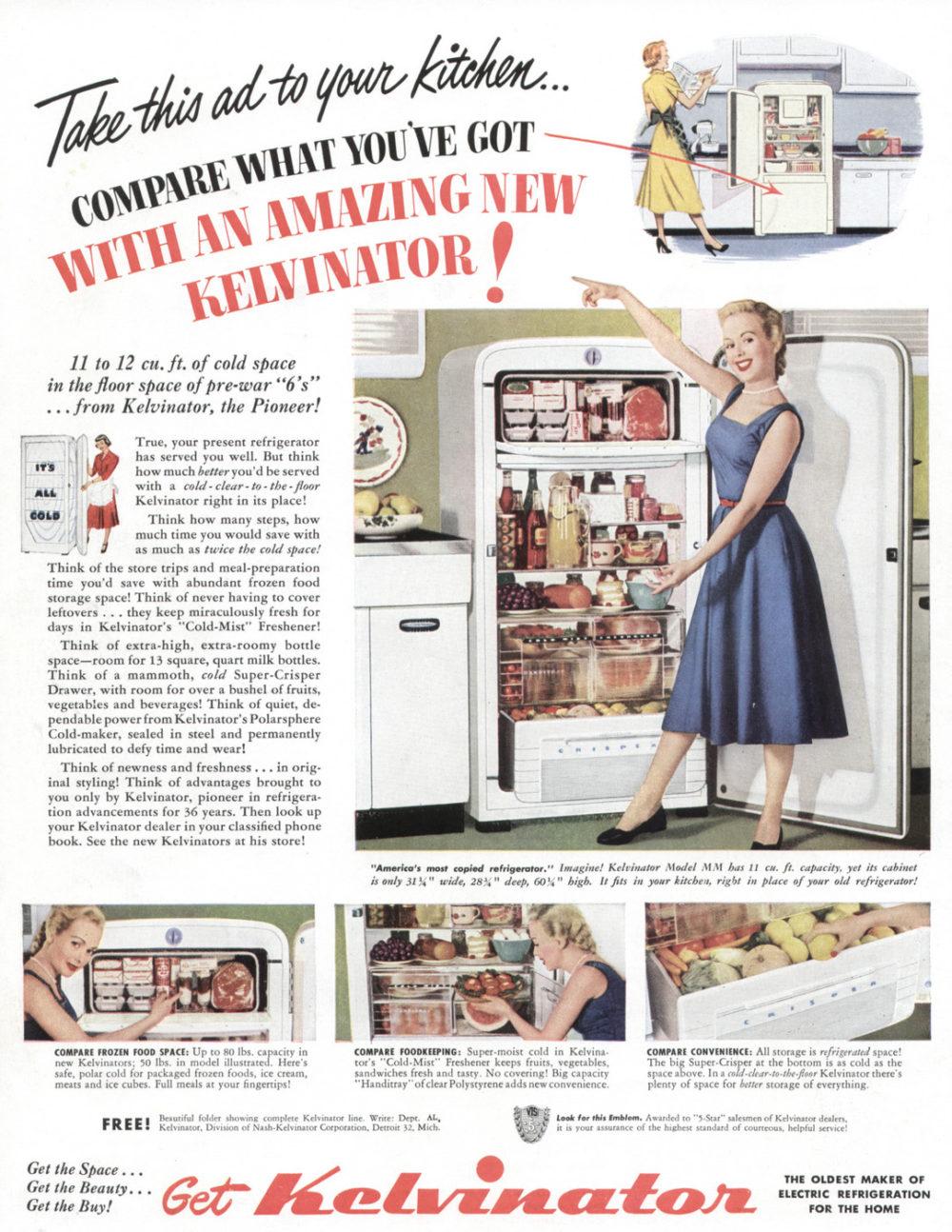 03 Kelvinator Refrigerators