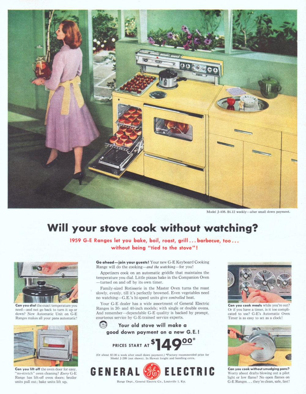 10 Ge Keyboard Cooking Range