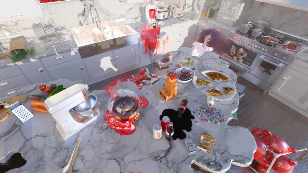 Kitchen Scene Int02