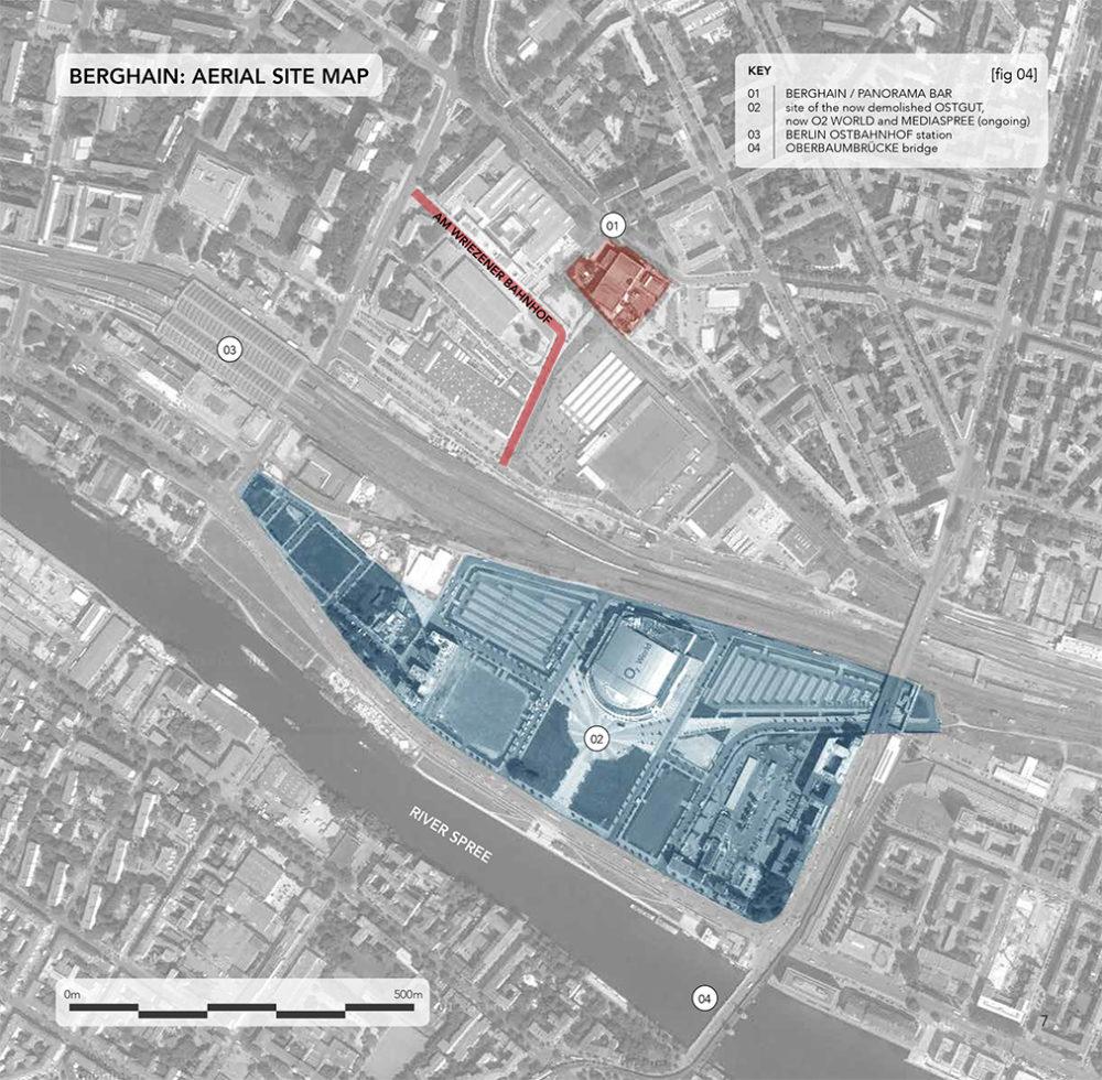 Berghain location map