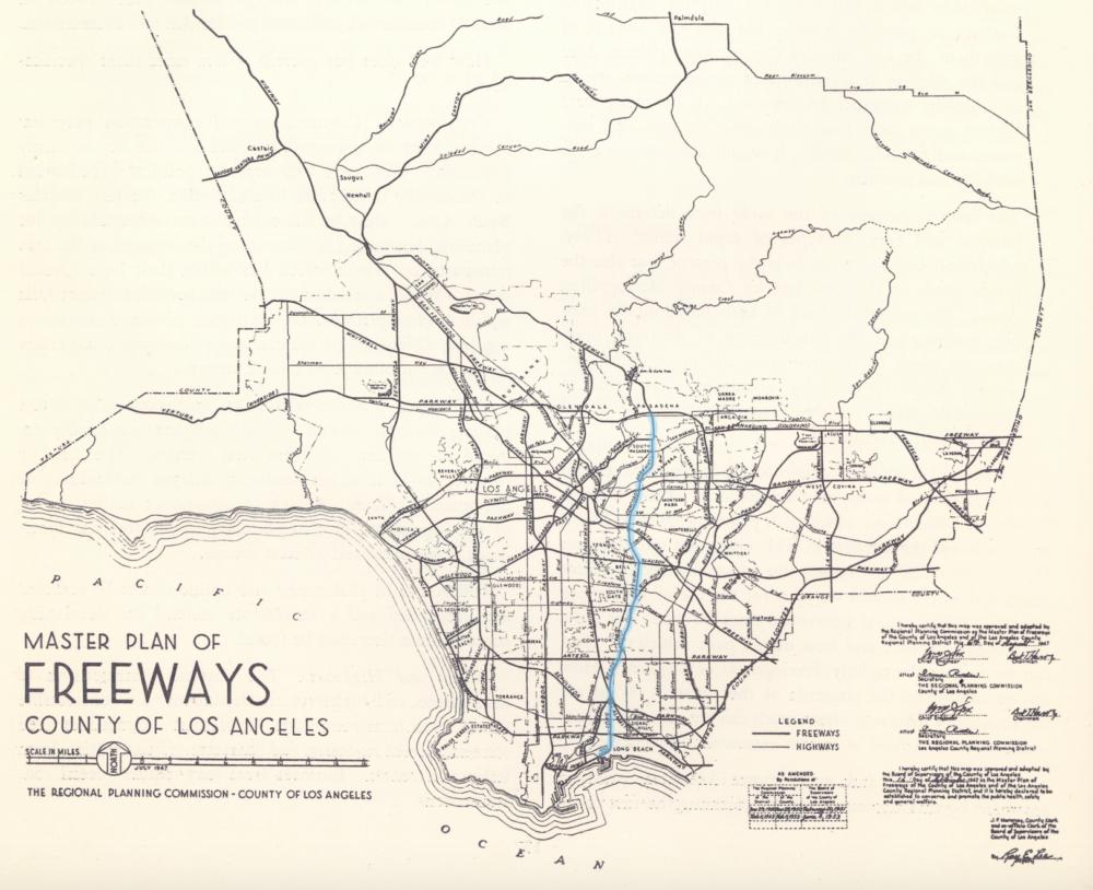 03_1947_Master Plan_Freeways