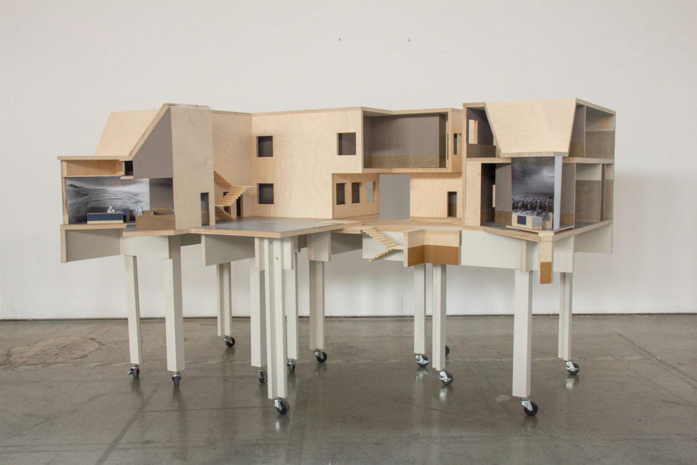 Unrolled-Model-of-Courthouse