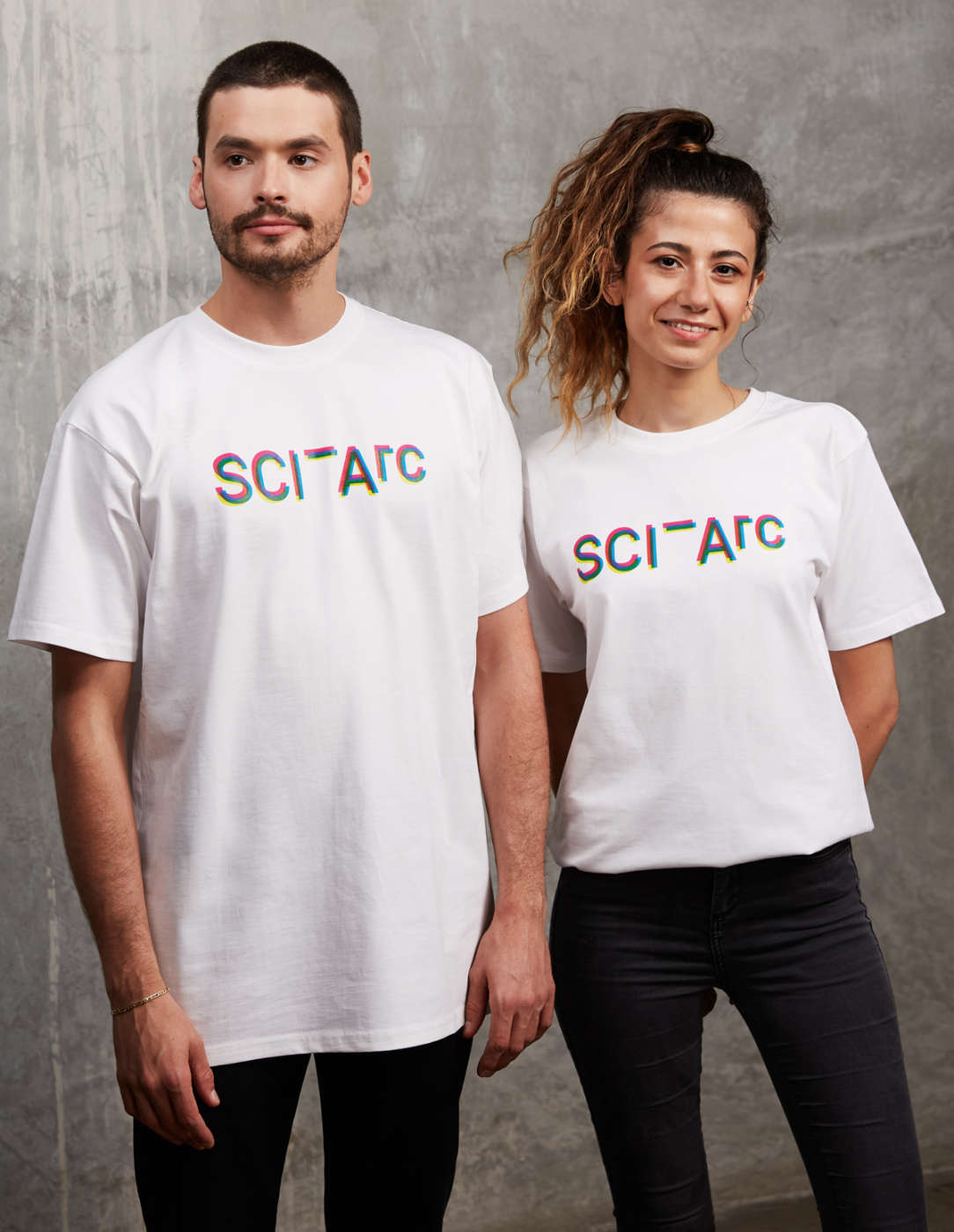 3D sciarc logo t shirt