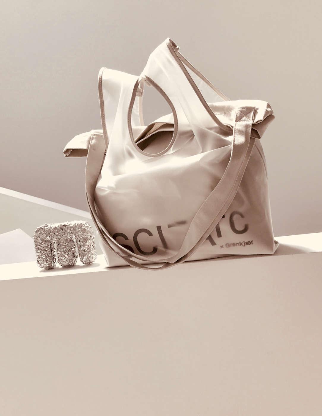 sci arc grey bag merchandise