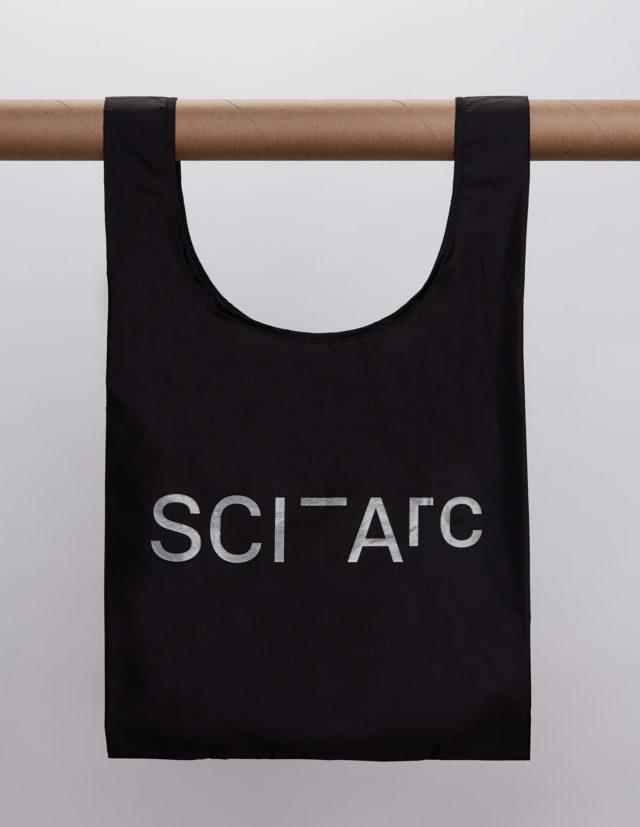 black sciarc logo baggu hanging