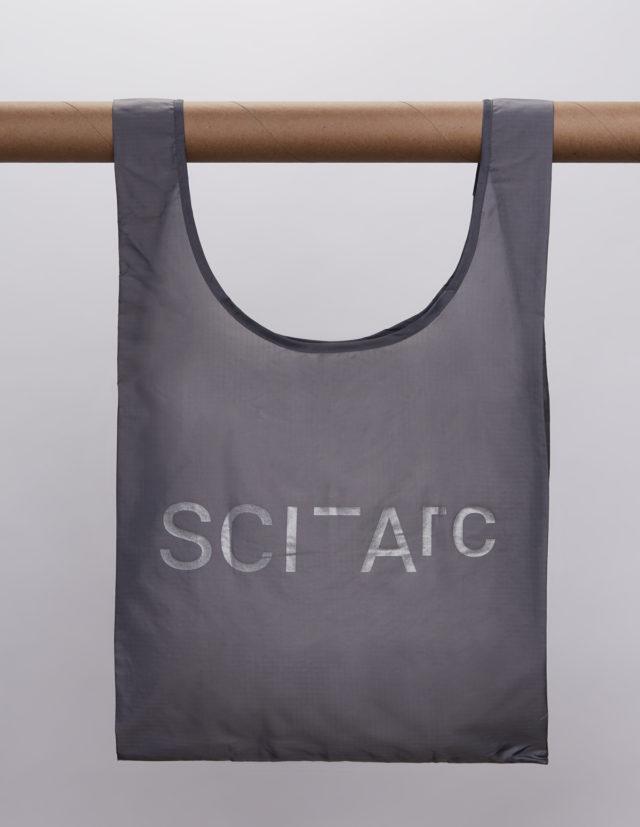 grey sciarc logo baggu hanging