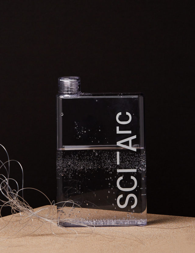 sciarc logo clear flask