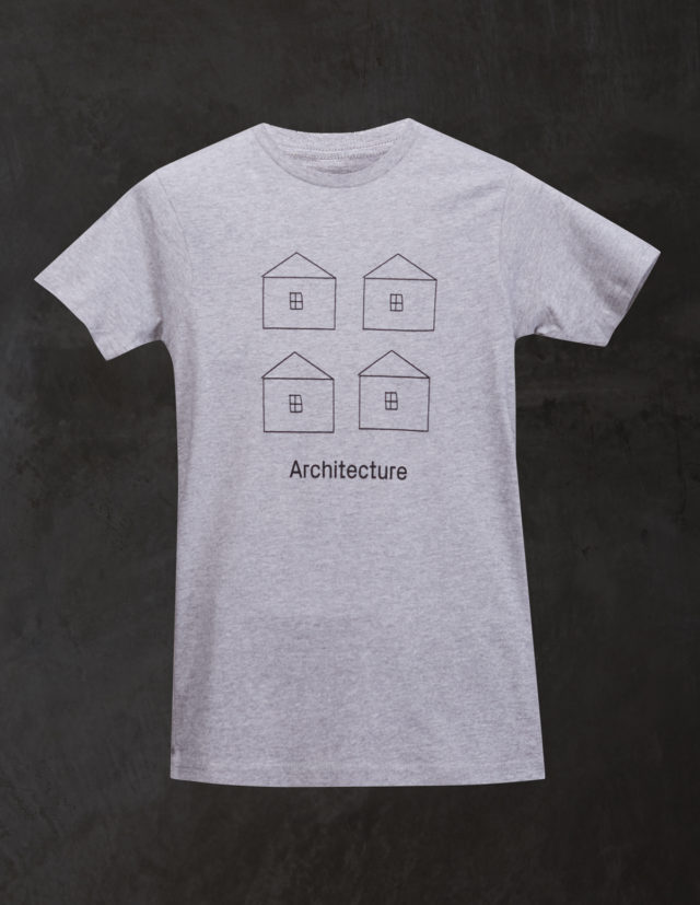 Grey Architecture T Shirt1