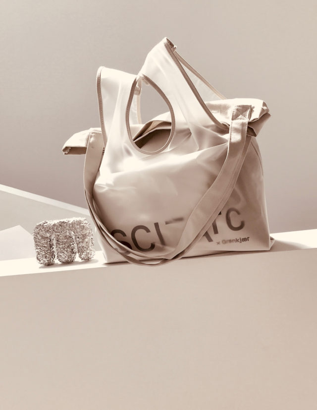 sci arc grey bag merchandise