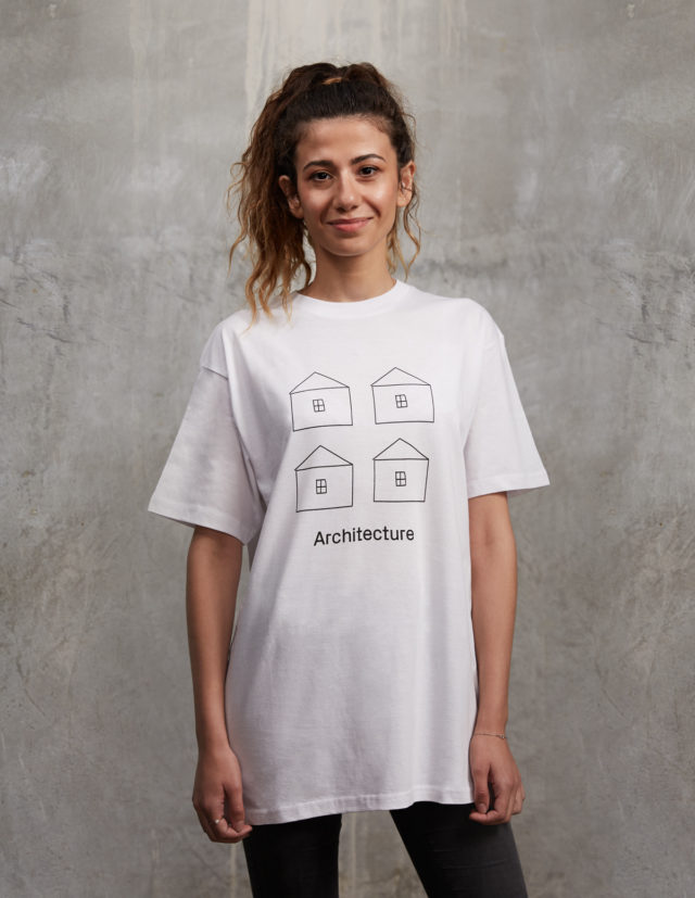houses white sciarc t shirt