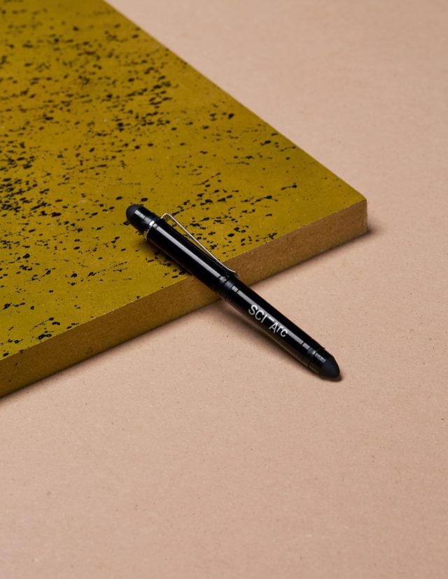 sciarc pen stylus on object
