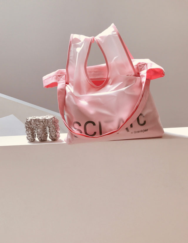 sci arc pink bag merchandise
