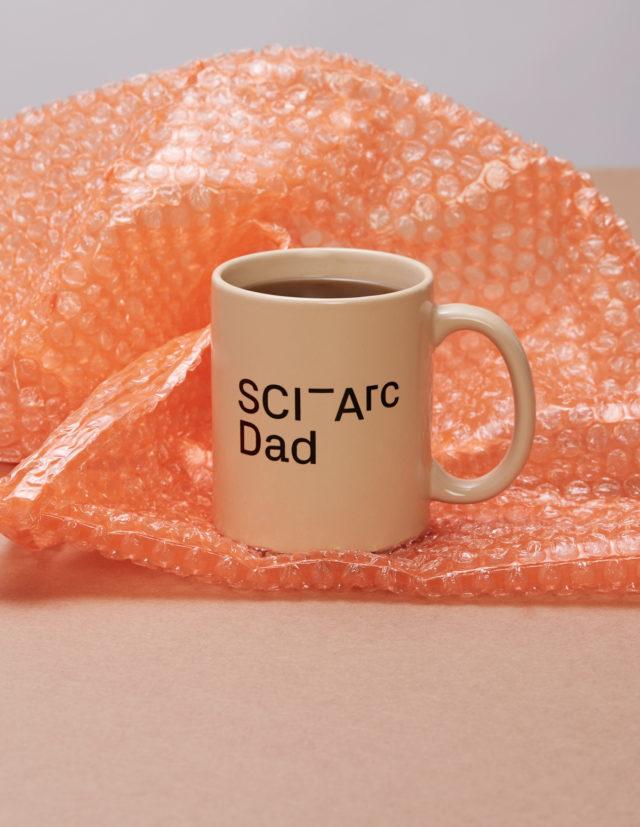sciarc logo dad mug