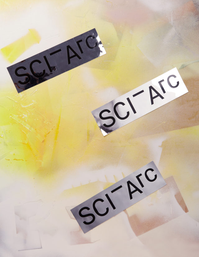 chrome sciarc logo sticker