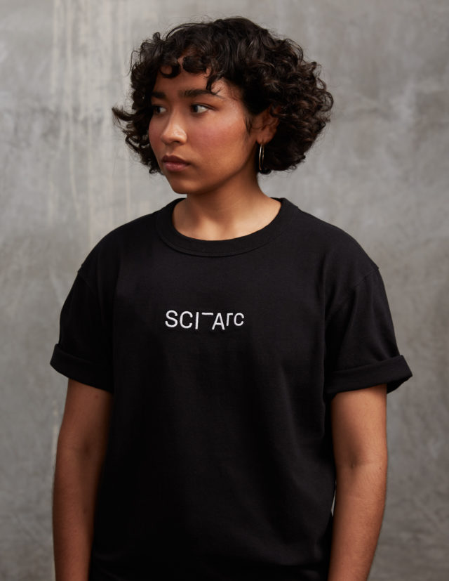 sci arc black tshirt merchandise
