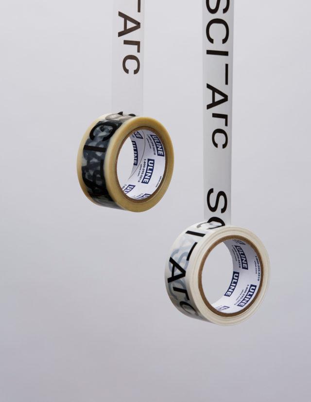 sciarc logo packaging tape set