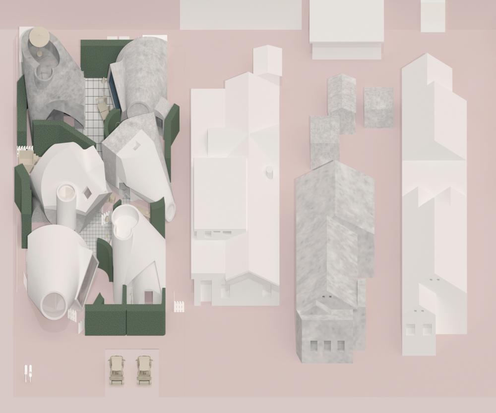 site plan render