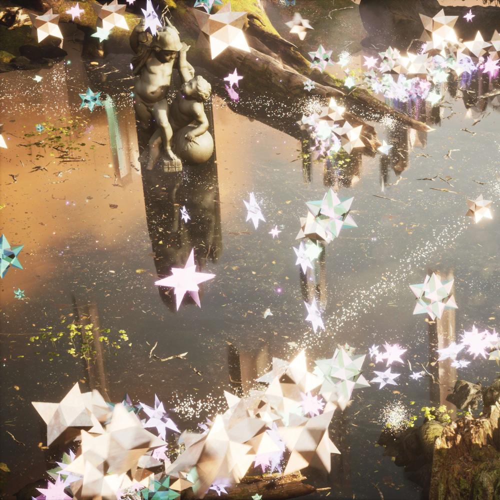 sparkle garden render