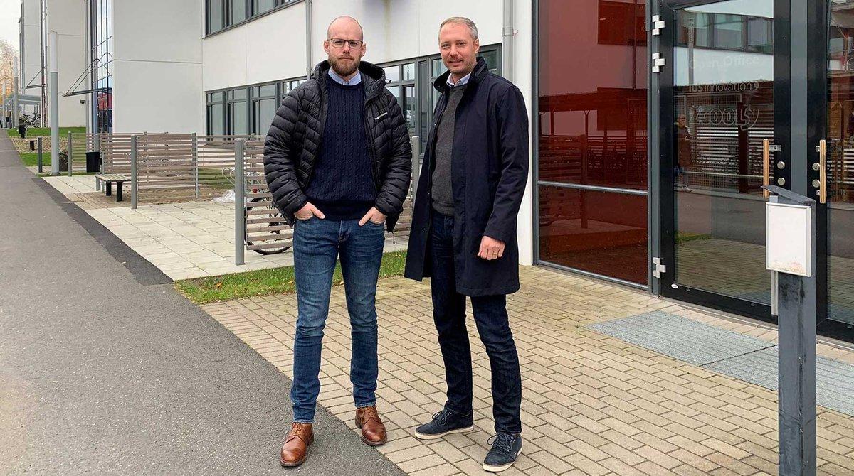 Addgile AB väljer Science Park Skövde för sin etablering