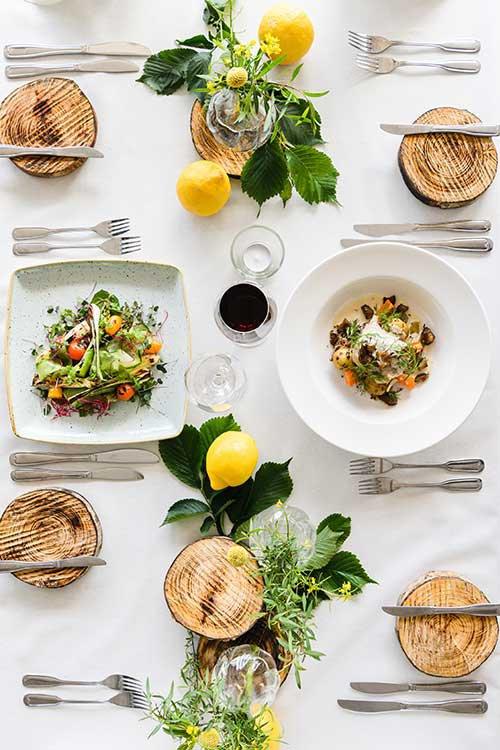 Dukat bord i Orangeriet_