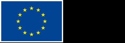 EU Logga Europeiska Unionen. Europeiska regionala utvecklingsfonden