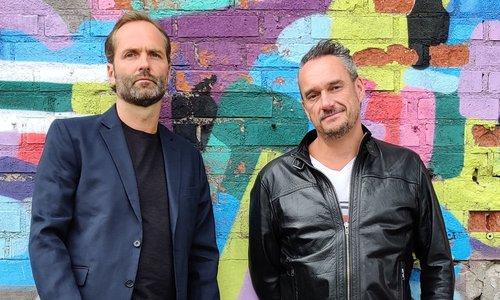 Michael Yngfors (tv) och Mattias Johansson från Hiber. Foto: Hiber AB
