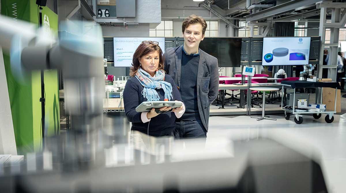 IDC Kollaborativa robotar