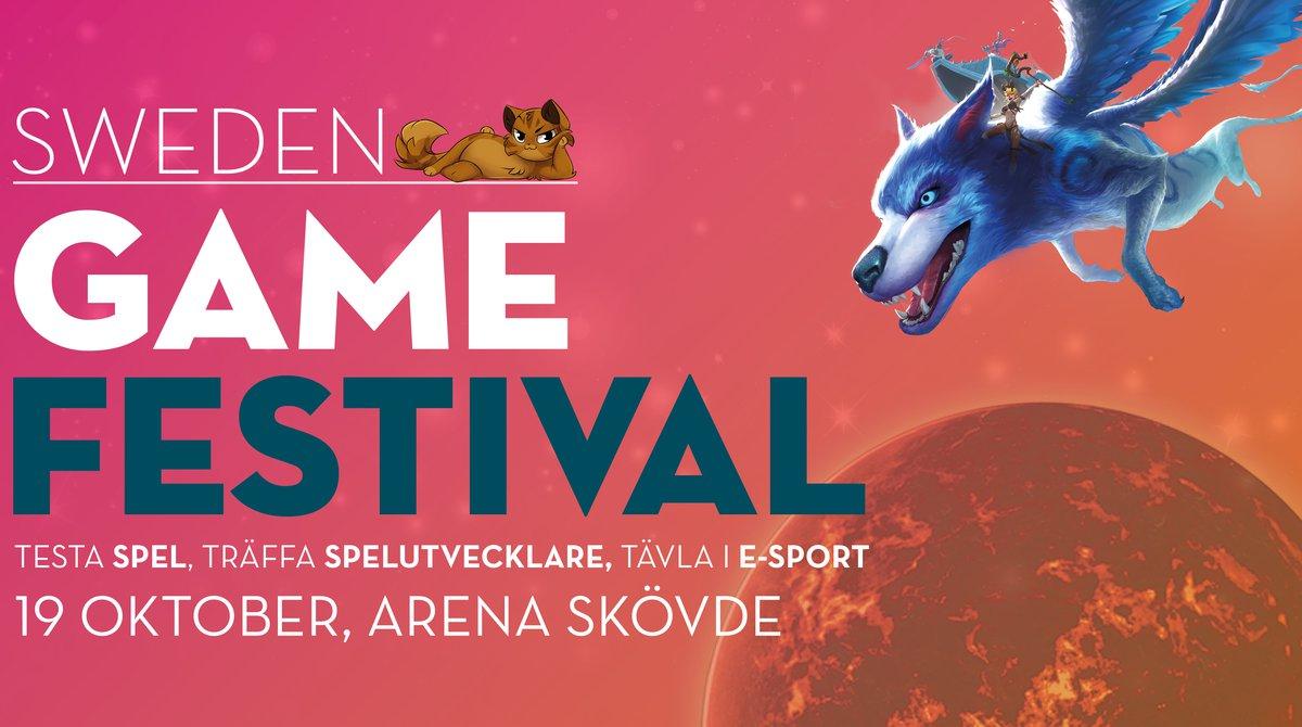 Sweden Game Festival 19 oktober