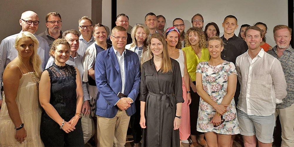 VINK-projektets deltagare i Israel 2019