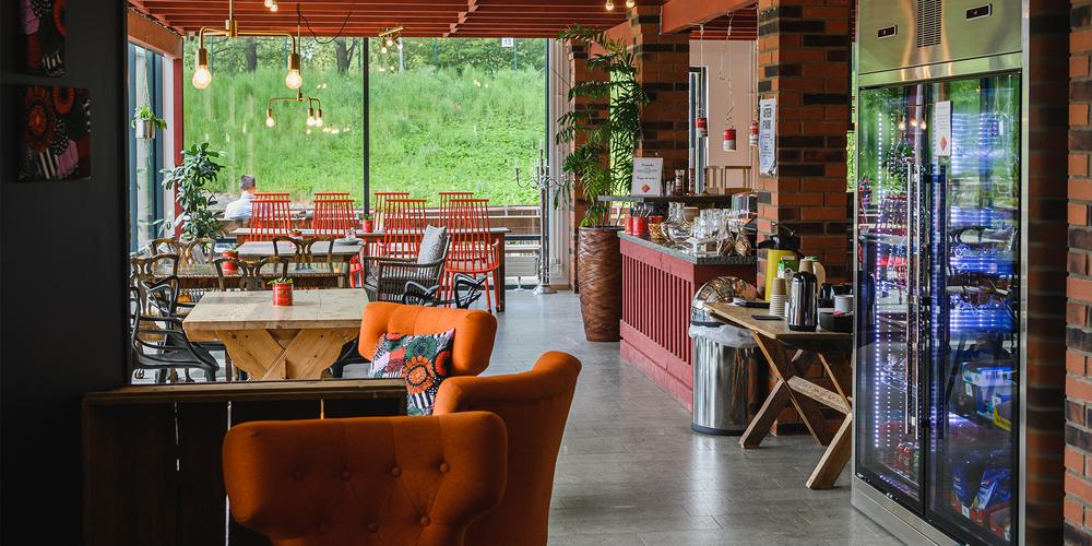 Växthusets cafe