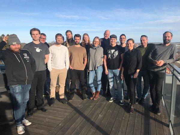 Startup styrelsearbete gruppbild