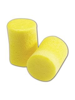 3M 310-1001 3M™ 310-1001 EAR Classic Regular Disposable Foam Uncorded Earplugs, 200 Pairs, Yel