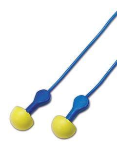 3M 311-1114 3M™ 311-1114 E-A-R Express Pod Plugs Corded Earplugs with Colored Grips, 100 Pairs