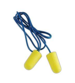3M 312-1223 3M™ 312-1223 E-A-R TaperFit 2 Foam Regular Corded Earplugs, 200 Pairs, Blue/Yellow