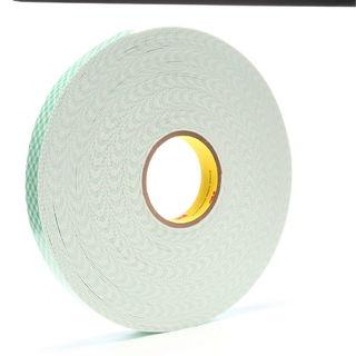 3M 4016 Double Coated Urethane Foam Tape 4016 Off-White, 1 in x 36 yd 1/16 in, 9 per case Bulk