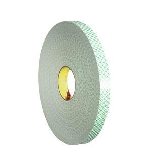 3M 4032 Double Coated Urethane Foam Tape 4032 Off-White, 3/4 in x 72 yd 1/32 in, 12 per case Bulk