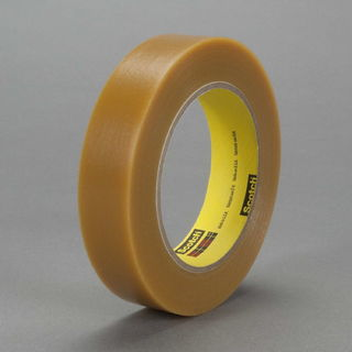 3M 484 Electroplating/Anodizing Tape 484 Tan, 1/2 in x 36 yd 7.2 mil, 72 per case Bulk